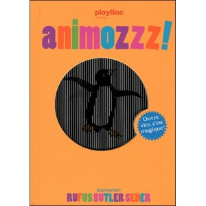 Book : ANIMOZZZ ! A Scanimation Picture Book