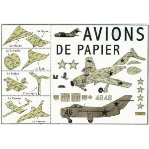 Jouet : AVIONS DE PAPIER