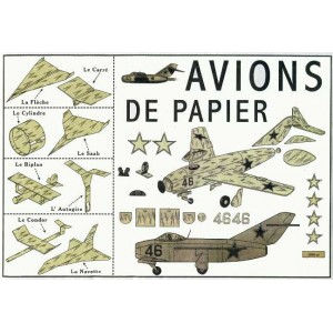Toy : PAPER AIRPLANES