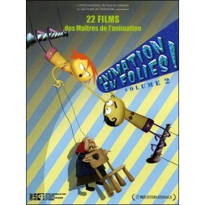 DVD : ANIMATION EN FOLIES ! - Vol 2