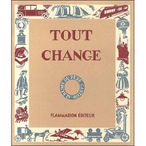 Livre : TOUT CHANGE
