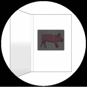 Postcard : THE PINK PIG - A SmartMove Scanimation™ Card