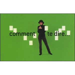 Flipbook : COMMENT TE DIRE... (How to tell you...)