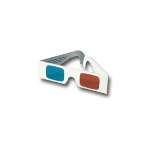 Relief : PAIR OF ANAGLYPH GLASSES Red - Cyan