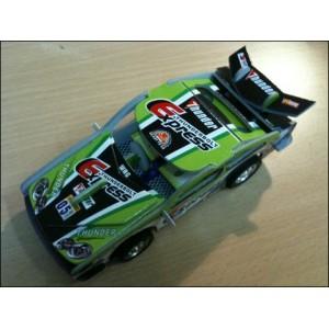 Toy : THUNDERBOLT EXPRESS GREEN CAR PUZZLE