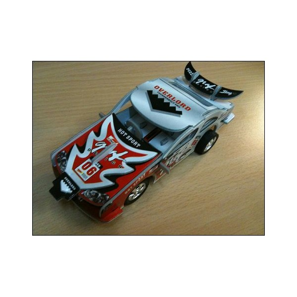 Toy Thunderbolt Hot Sport Red Car Puzzle