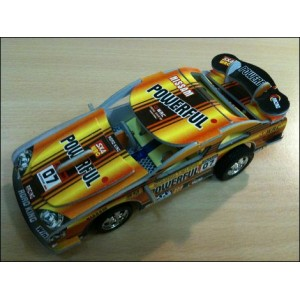 Toy : THUNDERBOLT POWERFUL ORANGE CAR PUZZLE