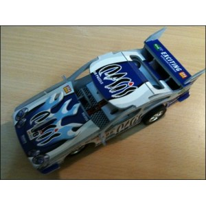 Toy : THUNDERBOLT EXCITING BLUE CAR PUZZLE