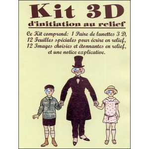 Relief : KIT 3D d'initiation au relief