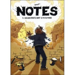 Comics : BOULET - Notes 5 - QUELQUES MINUTES AVANT LA FIN DU MONDE