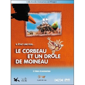 DVD : LE CORBEAU ET UN DRÔLE DE MOINEAU (The crow and the funny sparrow)