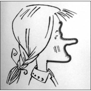 Jouet : Les Caricatures - LA JEUNE FILLE aux centaines de visages