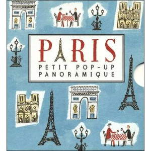 book paris pop up book panorama. Black Bedroom Furniture Sets. Home Design Ideas