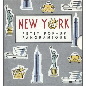 Book : NEW YORK - Pop-up book panorama