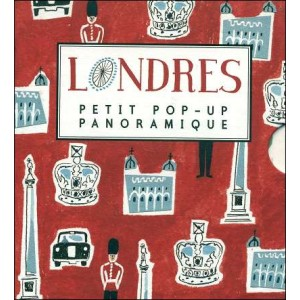 Book : LONDRES (London) - Pop-up book panorama