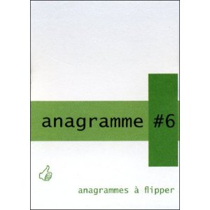 Flipbook : Anagramme 6