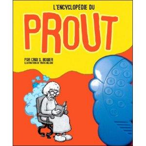 Book : L'ENCYCLOPÉDIE DU PROUT (FARTS a spotter's guide)