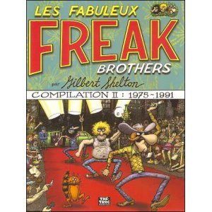 BD : Les fabuleux FREAK BROTHERS - Compilation 2 : 1975 - 1991