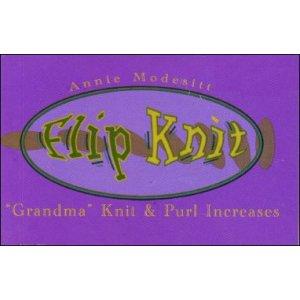 "Flipbook : KNIT 4 - ""Grandma"" Knit & Purl Increases"