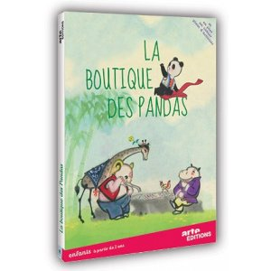 DVD : LA BOUTIQUE DES PANDAS
