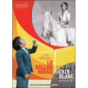 DVD : LE BALLON ROUGE - CRIN BLANC