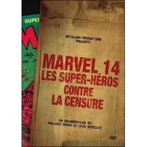 DVD : MARVEL 14 - Les Super-Héros contre la censure