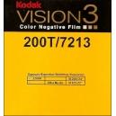Super 8 : Chargeur KODAK VISION 3 - 200T / 7213