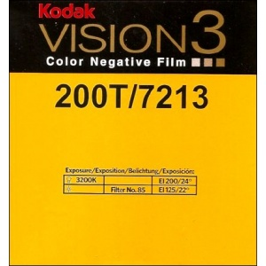 Super 8 : KODAK VISION 3 - 200T / 7213