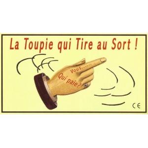 Jouet : LA TOUPIE QUI TIRE AU SORT !