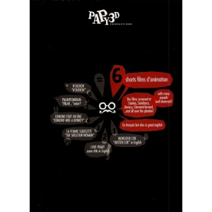 DVD : PAPY 3D - 6 SHORTS FILMS D'ANIMATION