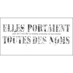 Flipbook : ELLES PORTAIENT TOUTES DES NOMS