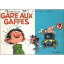 BD : GASTON N°1 - GARE AUX GAFFES - Recto
