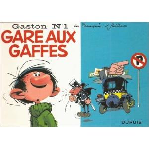BD : GASTON N°1 - GARE AUX GAFFES