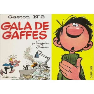 Comics : GASTON 2 - GALA DE GAFFES