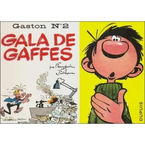 Comics : GASTON 2 - GALA DE GAFFES