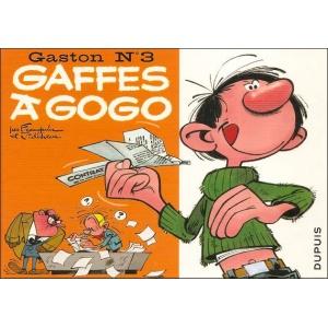 BD : GASTON N°3 - GAFFES À GOGO