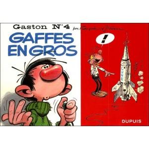 BD : GASTON N°4 - GAFFES EN GROS