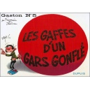 BD : GASTON N°5 - LES GAFFES D'UN GARS GONFLÉ - Recto
