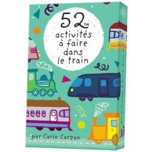 Game : 52 activités à faire dans le train (52 activities to do in the train)