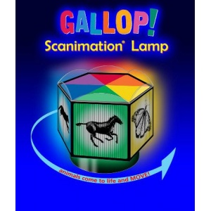 Optical Toy : GALLOP SCANIMATION™ LAMP