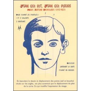 Postcard : JEAN QUI RIT, JEAN QUI PLEURE (Jean laughs, Jean cries)