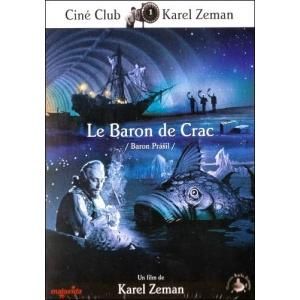 DVD : LE BARON DE CRAC (Baron Prásil)