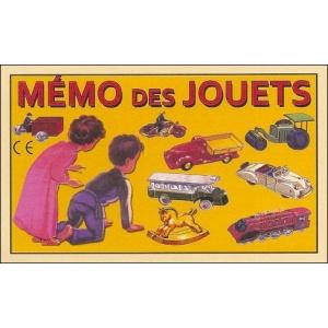 Game : MÉMO DES JOUETS (Toys Memory)