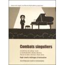 DVD : COMBATS SINGULIERS - Jaquette du DVD