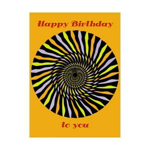 Postcard : MIRACLE CARD 1672 - HAPPY BIRTHDAY