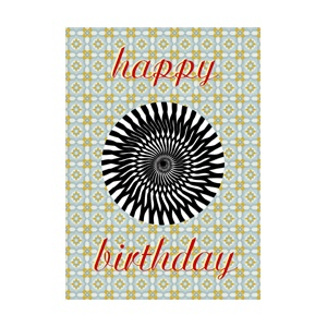 CP : MIRACLE CARD 16195 - HAPPY BIRTHDAY