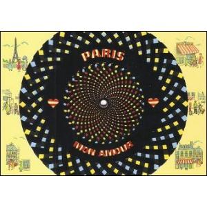 Postcard : MIRACLE CARD 16201 - PARIS MON AMOUR