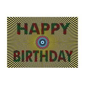 CP : MIRACLE CARD 16261 - HAPPY BIRTHDAY