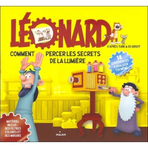Livre : LÉONARD : Comment percer les secrets de la lumière