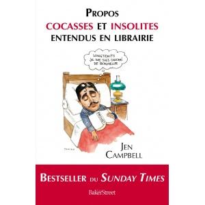 Book : PROPOS COCASSES ET INSOLITES ENTENDUS EN LIBRAIRIE